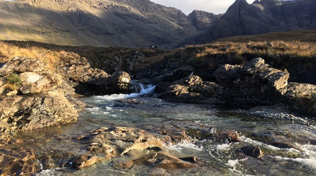 Skye Fairy Pools